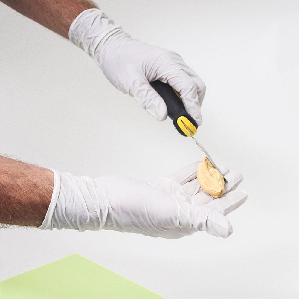 nitril handschoenen allergie
