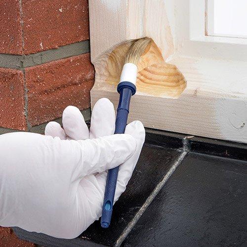 epoxy houtrot reparatie