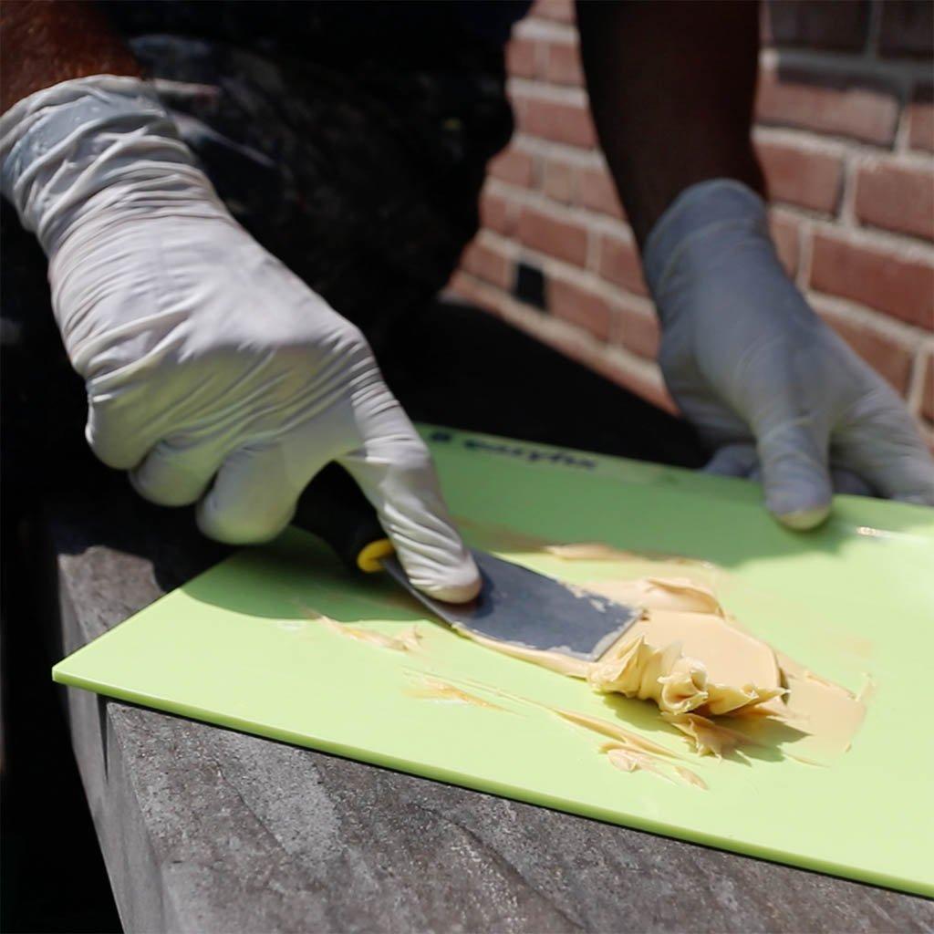 hout herstellen met epoxy