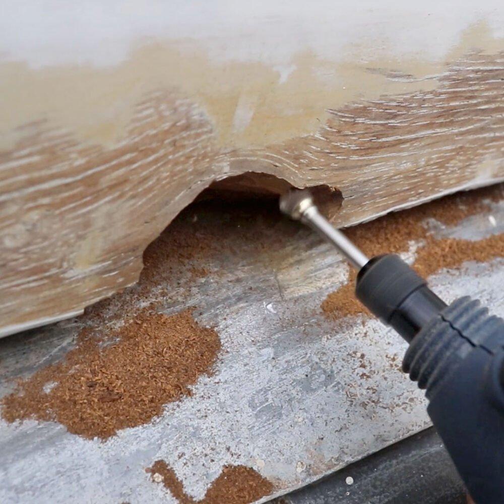 Eazyfix®: beste manier om houtrot te verwijderen?