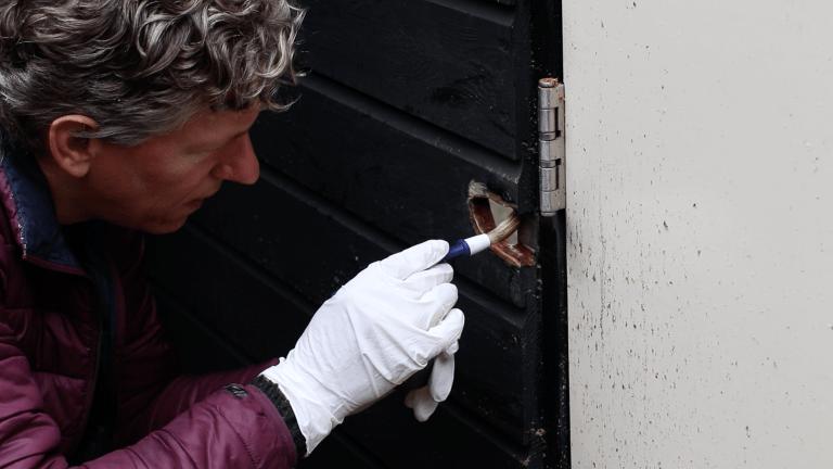 buitendeur repareren
