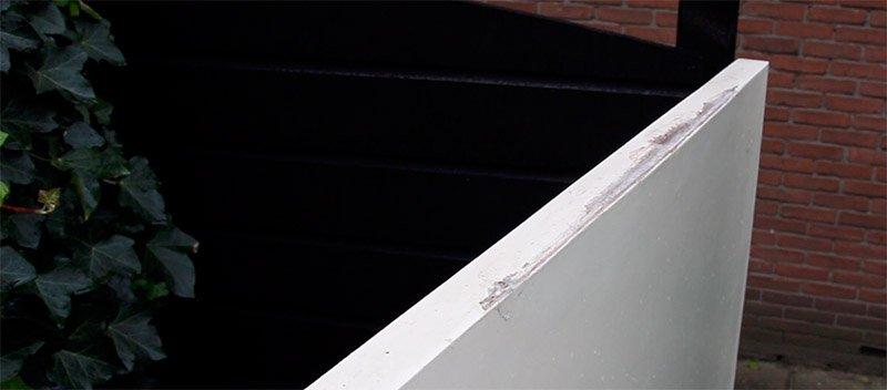 hout beschadiging repareren