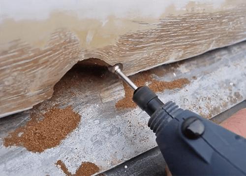 rot hout repareren